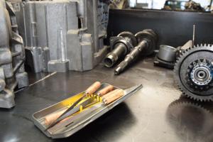 Repareren CVT versnellingsbak